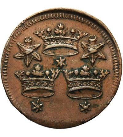Żeton z 1771 roku wybity przez Bractwo Miłosierdzia Trzech Króli w Gdańsku