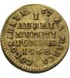 Weight of ducat 1768, Warsaw Mint