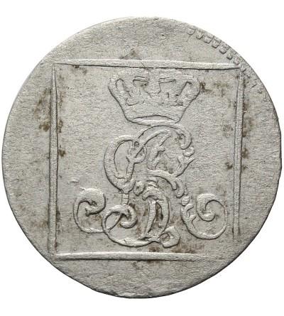 Grosz srebrny 1767 FS, Warszawa