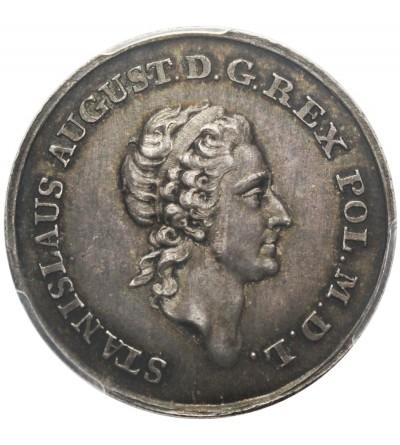 2 złotówka próbna 1771, Warszawa - PCGS SP 62