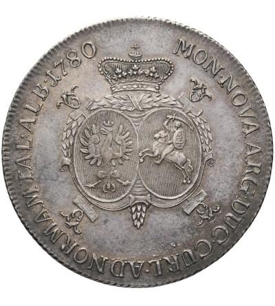 Kurlandia. Talar 1780, Mitawa