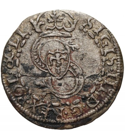 Kurlandia szeląg 1605, Mitawa