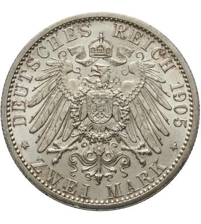 Schwarzburg Sondershausen 2 marki 1905