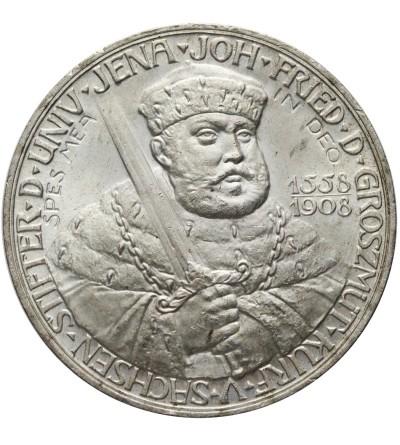 Saxony Weimar Eisenach 5 Mark 1908, Univerisy of Jena