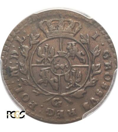 Grosz 1767 G, Krakow mint - PCGS AU 55