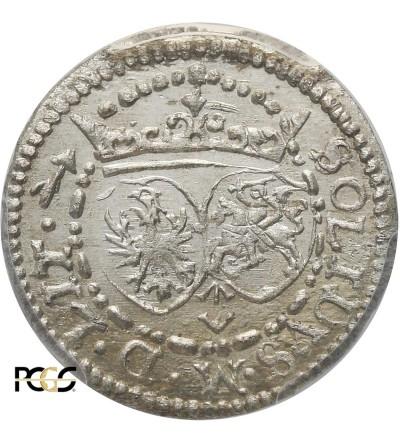 Szeląg 1617, Wilno - PCGS MS 64