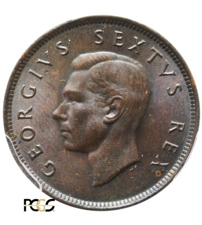 RPA 1/2 penny 1948. PCGS MS 65 BN