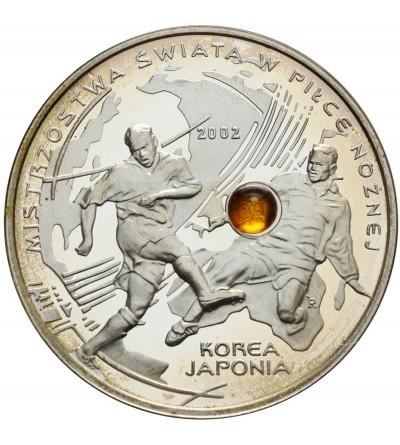 10 złotych 2002 - MŚ w piłce nożnej Korea-Japonia