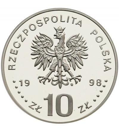 10 złotych 1998, Zygmunt III Waza - półpostać