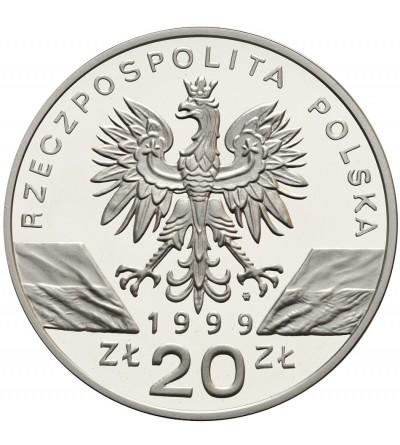 20 złotych 1999, wilki