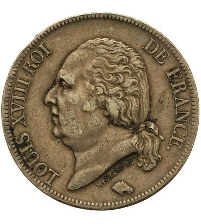 France 5 Francs 1821 B, Rouen