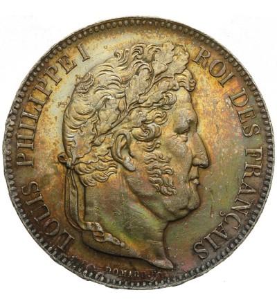 Francja 5 franków 1842 BB, Strasburg