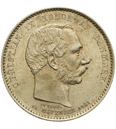 Dania 2 korony 1888