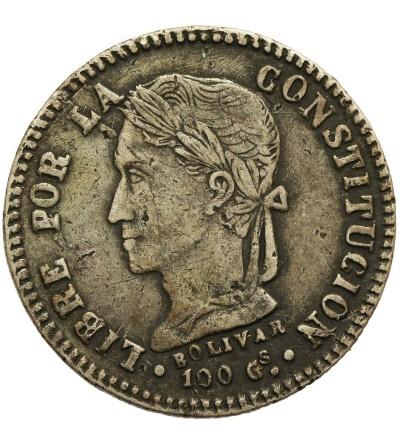 Boliwia 2 Soles 1860 PTS FJ