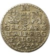 Trojak (3 grosze) 1592, Malbork (Marienburg) Mint