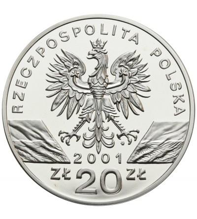 20 złotych 2001, paź królowej
