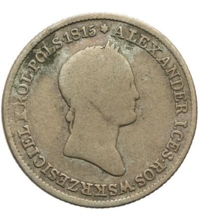 1 złoty 1832 KG, Warszawa