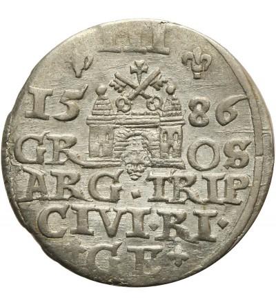 Trojak 1586 Ryga