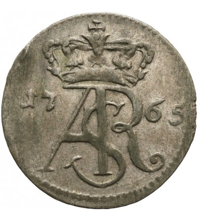 Trojak ( 3 grosze) 1765, Torun (Thorn) Mint