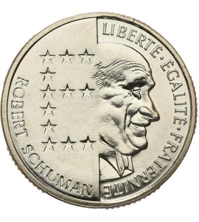 Francja 10 franków 1986 - odbitka w srebrze