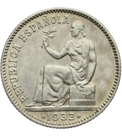 Hiszpania 1 peseta 1933