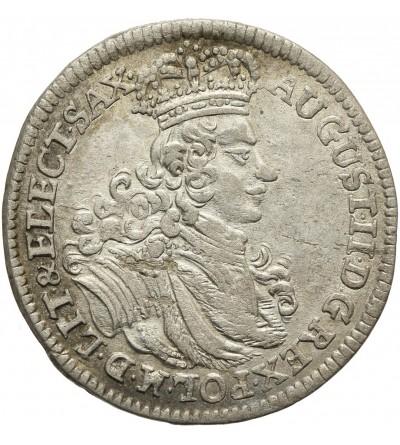 Szóstak (6 groszy) 1702, Lipsk