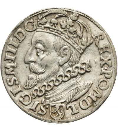 Trojak (3 Grosze) 1601 K, Krakow mint