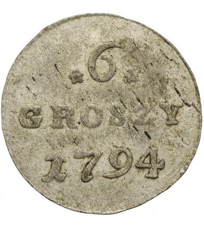 6 groszy 1794, Warszawa