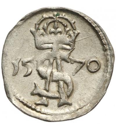 Dwudenar (2 Denars) 1570, Vilnius Mint
