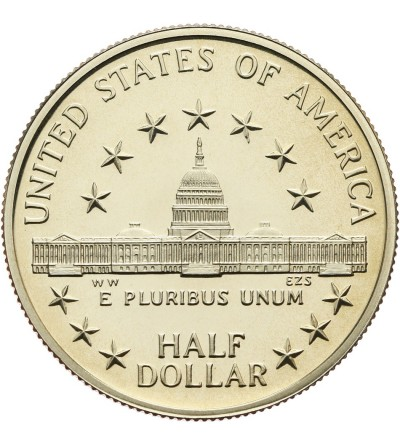 USA 1/2 dolara 1989 S, Kongres - Proof