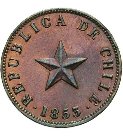 Chile Centavo 1853