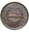 Chile 1 centavo 1853