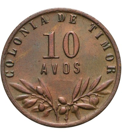 Timor 10 avos 1951