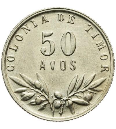 Timor 50 avos 1951