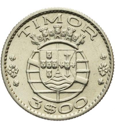 Timor 3 escudos 1958