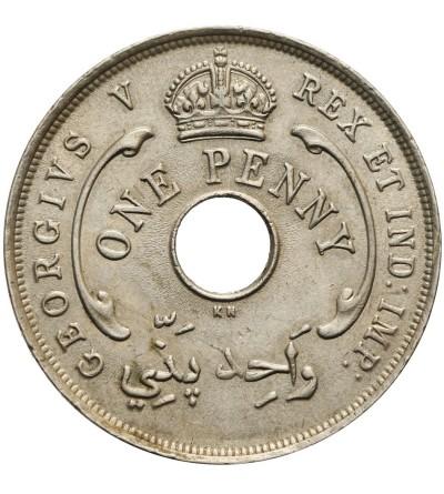 Brytyjska Afryka Zachodnia 1 penny 1920 KN