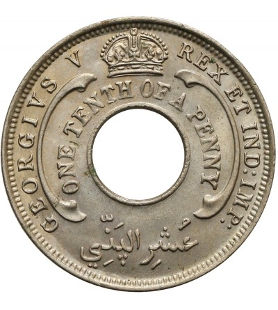 British West Africa 1/10 Penny 1926