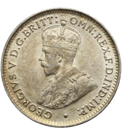 Brytyjska Afryka Zachodnia 3 pensy 1919 H