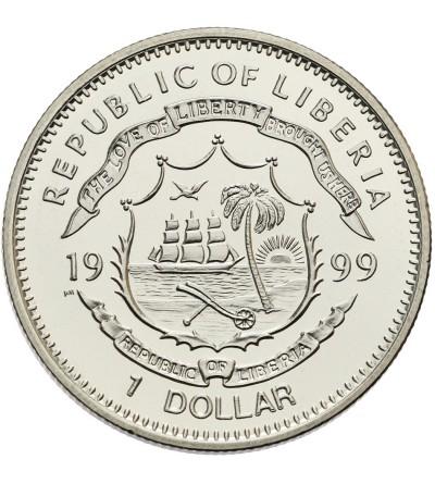 Liberia 1 dolar 1997, Smok i Feniks