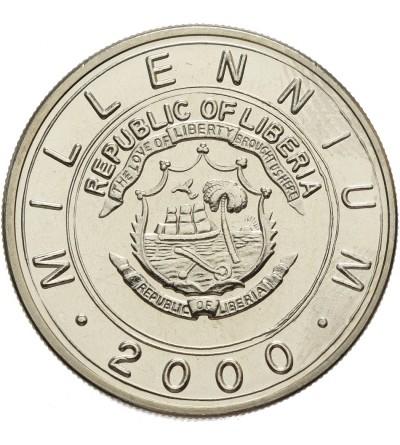 Liberia 5 dolarów 2000, Rok Smoka