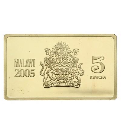 Malawi 5 Kwacha 2005, ship USSR Molotov
