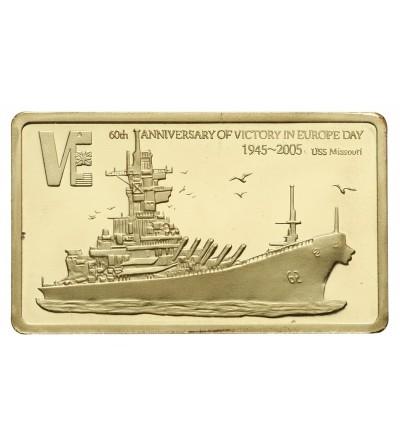 Malawi 5 kwacha 2005, USS Missouri