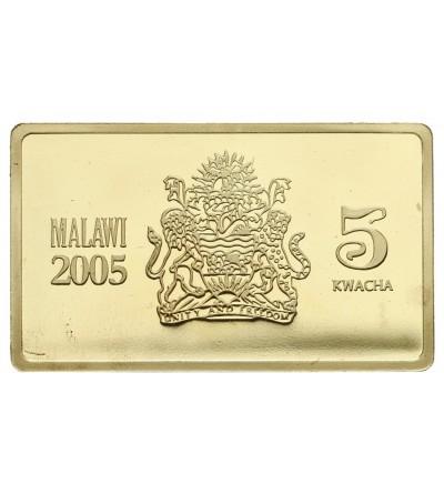 Malawi 5 Kwacha 2005, HMS Hood