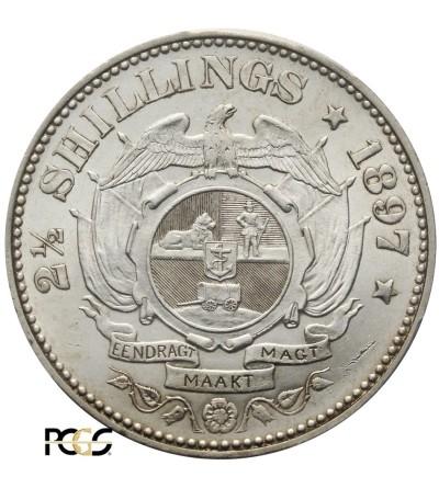 RPA 2 1/2 szylinga 1897. PCGS MS 62