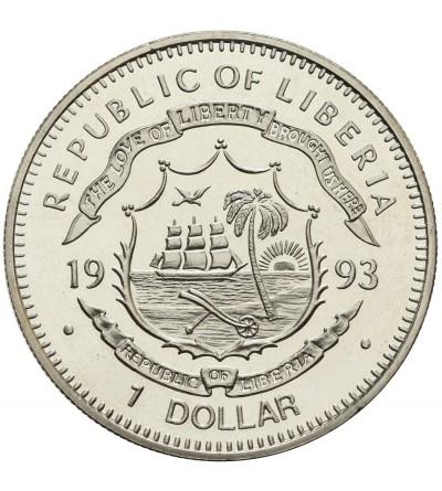 Liberia 1 dolar 1993, Corythosaurus