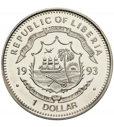 Liberia 1 dolar 1993, Atchaeopteryx