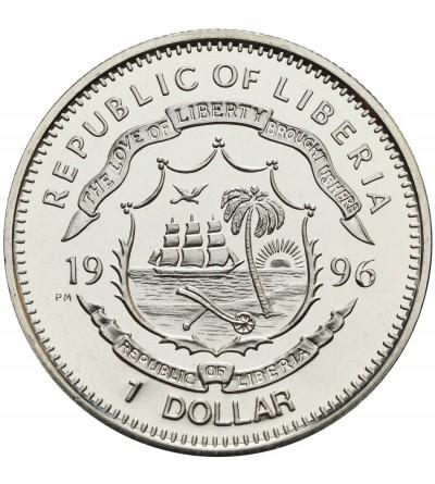 Liberia 1 dolar 1996, Kit Carson