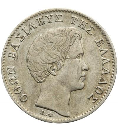 Grecja 1/2 drachma 1833