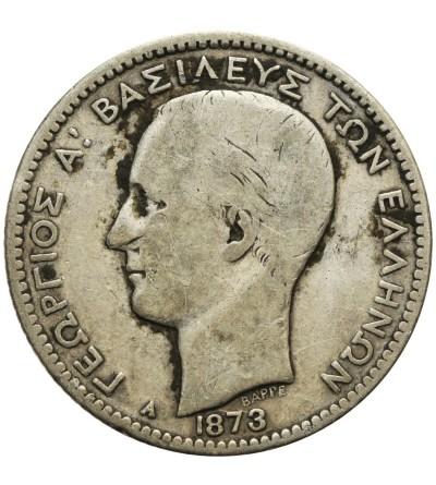Grecja 1 drachma 1873