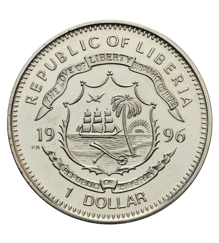 Liberia 1 dolar 1993, Jim Bowie